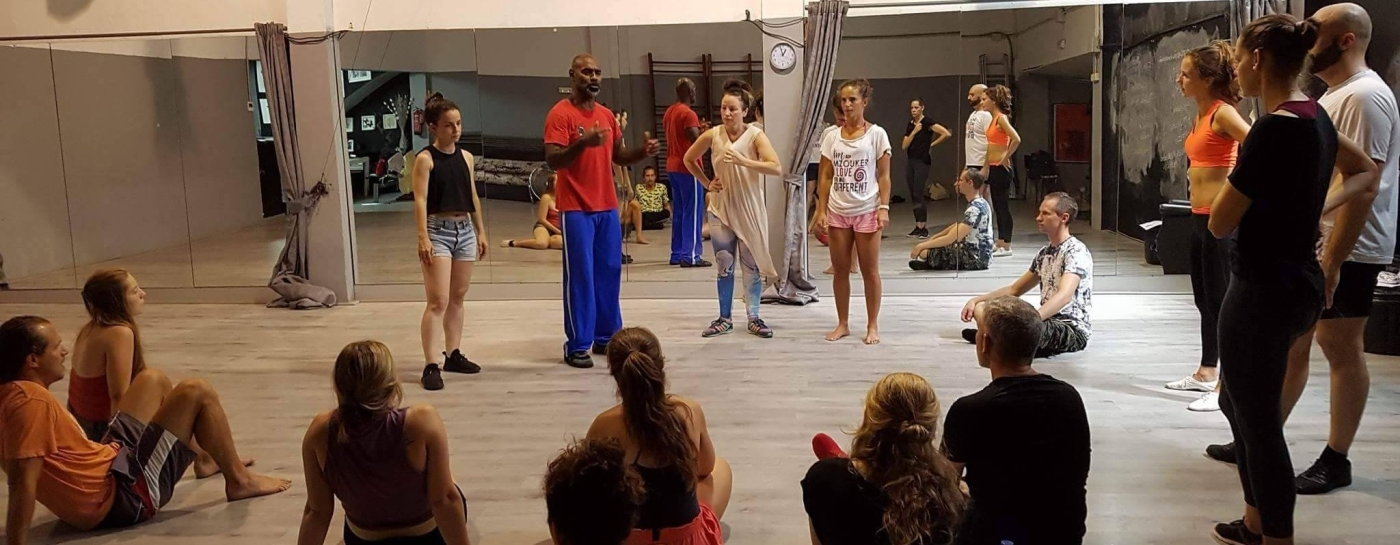 Mzouk Intensive Camp Barcelona Spiral Dance